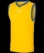 Майка баскетбольная JBT-1020-047, желтый/синий, детская