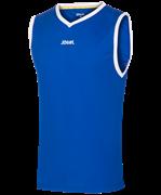 Майка баскетбольная JBT-1020-071, синий/белый, детская
