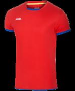 Футболка волейбольная JVT-1030-027, красный/синий, детская