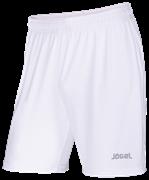 Шорты футбольные JFS-1110-018, белый/серый, детские