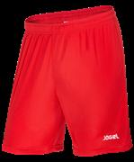 Шорты футбольные JFS-1110-021, красный/белый, детские