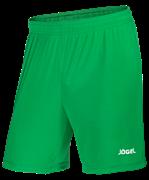Шорты футбольные JFS-1110-031, зеленый/белый, детские
