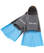 Ласты тренировочные CF-01, серый/голубой, р. 30-32