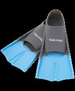 Ласты тренировочные CF-01, серый/голубой, р. 33-35