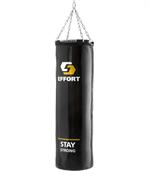 Мешок боксерский E253, тент, 25 кг, черный