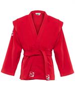 Куртка для самбо Junior SCJ-2201, красный, р.6/190
