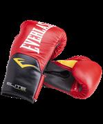 Перчатки боксерские Elite ProStyle P00001241, 8oz, кожзам, красный