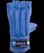 Перчатки снарядные, шингарты, кожзам, синий