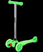 Самокат 3-колесный Zippy 2.0 3D 120/80 мм, зеленый