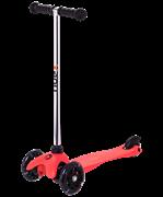 Самокат 3-колесный Zippy 2.0 3D 120/80 мм, красный