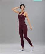 Женский спортивный комбинезон Balance FA-WO-0101, бордовый