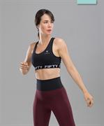 Женский спортивный бра-топ Balance FA-WB-0105, черный