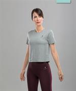 Женская спортивная футболка Balance FA-WT-0104, серый