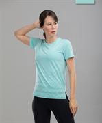 Женская спортивная футболка Balance FA-WT-0105, мятный