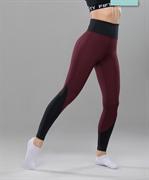 Женские спортивные леггинсы Balance FA-WH-0107, бордовый