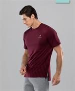 Мужская спортивная футболка Balance FA-MT-0105, бордовый