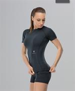 Женская компрессионная футболка Intense PRO FA-WT-0101, черный