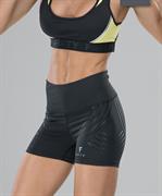 Женские компрессионные шорты Intense PRO FA-WS-0101, черный