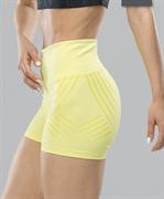 Женские компрессионные шорты Intense PRO FA-WS-0101, желтый