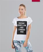 Женская спортивная футболка Intense FA-WT-0103, белый