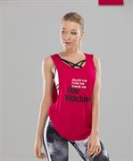 Женская спортивная майка Intense FA-WA-0102, красный