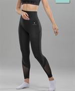 Женские спортивные бесшовные леггинсы Balance FA-WH-0108, серый