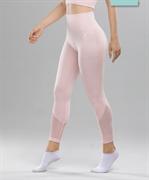 Женские спортивные бесшовные леггинсы Balance FA-WH-0108, розовый