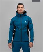 Мужская спортивная толстовка Intense PRO FA-MJ-0102, синий/черный