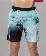 Мужские спортивные текстильные шорты Intense FA-MS-0104, принт мятный