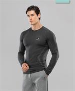 Мужской бесшовный лонгслив Balance FA-ML-0103, серый