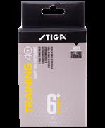 Мяч для настольного тенниса Training ABS белый, 6 шт.