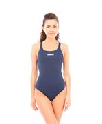 Купальник для плавания совместный Solid Swim Pro Navy/White, 2A242 085
