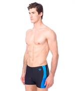 Плавки-шорты мужские Ren Short Black/Pix Blue/Turquoise, 000991 508