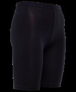Велосипедки гимнастические AA-2301, до колена, хлопок, черный (28-34)