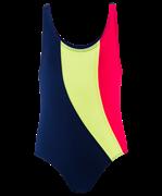 Купальник для плавания SC-4908, совместный со вставками, темно-синий (36-42)