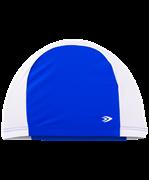 Шапочка для плавания, полиамид, темно-синий/белый