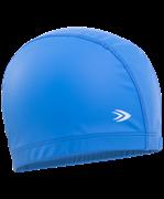 Шапочка для плавания, полиуретан, синий