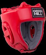 Шлем открытый Training HGT-9411, красный