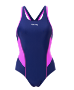 Купальник для плавания SC-3901 Delicate, совместный со вставками, темно-синий/розовый, 42-50