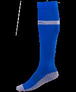 Гетры футбольные JA-003, синий/серый