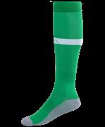 Гетры футбольные JA-003, зеленый/белый