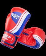 Перчатки боксерские Knockout BGK-2266, 8oz, к/з, красный