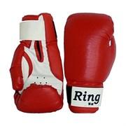 Перчатки боксерские 12 унций П-409, красные