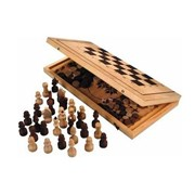 Набор 3 в1 (Шахматы, нарды и шашки) Россия