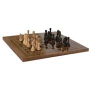 Набор 3 в1 (Шахматы, нарды и шашки) тонированные Россия