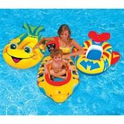 """Надувной детский плот Intex 59380 """"pool Cruisers"""" 3 цвета"""