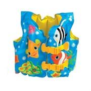"""Жилет """"веселые рыбки"""" Intex 59661 от 3-5 лет"""