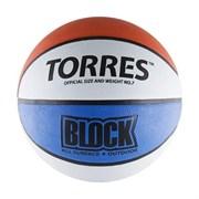 Мяч баскетбольный Torres Block арт.B00077 р.7