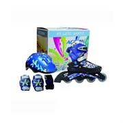 Набор Action PW-780 : коньки ролик, защита, шлем р. 26-29