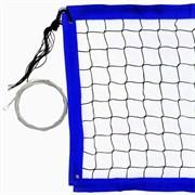 Сетка для пляжного волейбола FS№18 8,5х1м черная